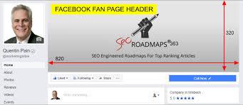 facebook fan page header image size