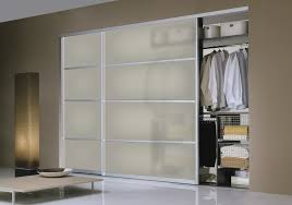 custom size interior sliding doors can be used for closets