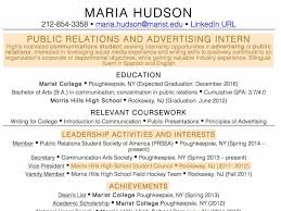 Resume For High School Students With No Experience Lovely Resume For