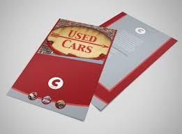 Used Car Dealer Flyer Template Mycreativeshop