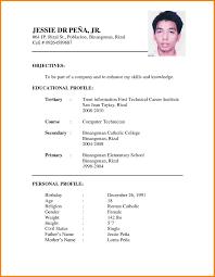 6 Latest Cv Format Resume Thistulsa