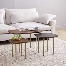 trio nesting tables set of 3