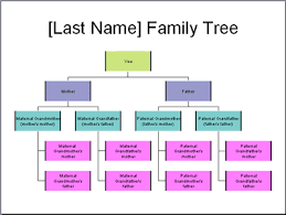 Build A Family Tree In Excel Make A Family Tree Chart In Powerpoint 2003
