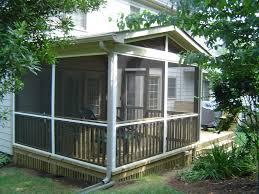 Screened In Porch Design screen porch kits porch design ideas & decors 3346 by uwakikaiketsu.us