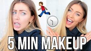 5 minute makeup tutorial for back to work video