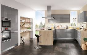 Awesome Küche Grau Hochglanz Ideas Globexusa globexusa