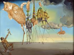 salvador dali the irresile temptation of st anthony