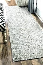 s grey jute rug round