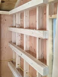 shed storage ideas ana white garage shelves