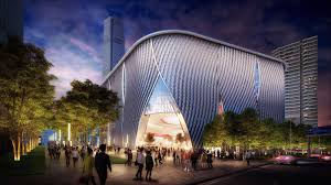 New Images Video For Bing Thom Architectsu0027 Xiqu Centre Revealed Courtesy Of