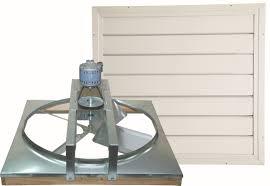 24 Inch Belt Drive Whole House Fan with Shutter - Standard Model