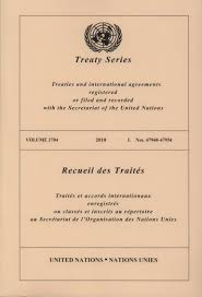 united nations cover letter format united nations treaty collection