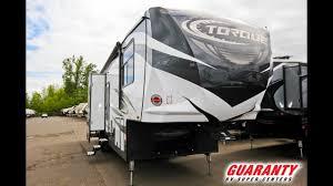 2018 heartland torque 365 toy hauler fifth wheel video tour guaranty