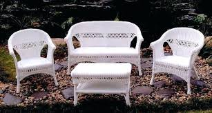 outdoor furniture white. Contemporary Resin Wicker Patio Furniture White Inspirations Outdoor E