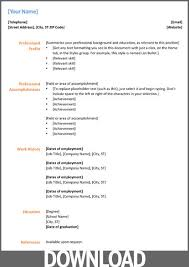 Office 2007 Resume Template Microsoft Office 2007 Resume Templates