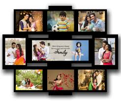 multiple picture frames wood. Personalised Wooden Multi Photo Family Collage Rectangular Frame Large Multiple Picture Frames Wood