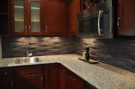 Small Picture Island Stone Rustic Himachal Black backsplash Modern Kitchen