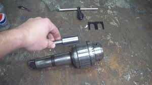 Breaking The Jacobs Taper on a Drill Chuck - YouTube