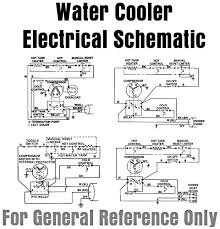 water cooler electrical schematic for general reference