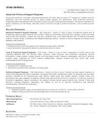 Application Support Engineer Resume Sample Technical Support Resume