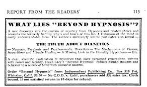 The Sources That L Ron Hubbard Stole From To Create Scientology