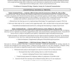 Resume Template Freelance Content Writer Sample Senior Technical ...