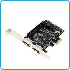 ide cards us 8 9 combo 2 port sata 2 0 ide 2 port esata pci e pci express raid controller card adapter pci e ide sata card in add on cards from computer