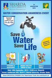 water conservation awareness event save water save life sharda  save water save life poster 01