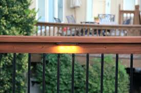 led deck rail lights. Under Rail Deck Lighting Perfect Decoration Railing Lights Easy Led Image Gallery Collection