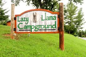 our stay at the most friendly campground we have ever stayed in lazy llama campground