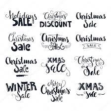 Christmas Sale Signs Stock Vector Favetelinguis199 94842096