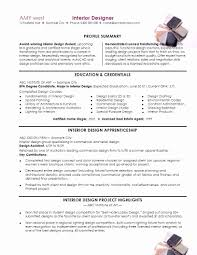 Interior Designer Resume Sample Interior Design Resume Examples Resume Templates Interior Design 52