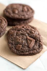 Chewy Chocolate Cookies Easy Chewy Double Chocolate Cookies Recipe