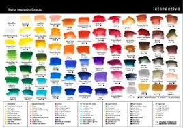 Matisse Colour Chart Atelier Interactive Artists Acrylic Paints Highly Strung Art