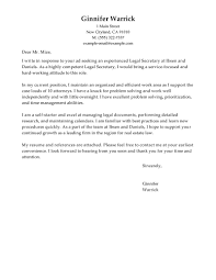 Well Suited Ideas Legal Secretary Cover Letter 1 Best Examples