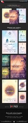 best ideas about event flyers flyer design deep house session event flyer templates bundle
