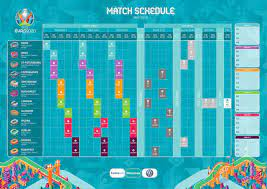 The tournament features 24 teams across six groups. Official Uefa Euro 2020 Schedule Soccer