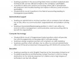 Resume Objective Statement Examples Cv Resume Ideas