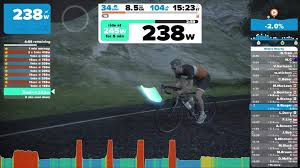 zwift workout mode beta for virtual reality 3d cycling program
