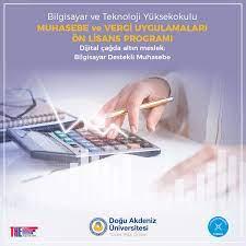 Eastern Mediterranean University - 🔹Muhasebe ve Vergi Uygulamaları Ön  Lisans Programı -Meslek Lisesi çıkışlılara KKTC Milli Eğitim Bakanlığı  Bursu, Devlet ve DAÜ burs imkanları, -Türkiye ve KKTC de FIBAA onaylı ilk ve