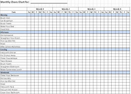 Examples Of Chore Charts For Families Sample Chore Charts For Families Elegant 12 Free Sample
