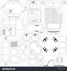floor plan furniture symbols free download