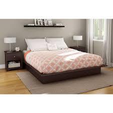 Platform Bedroom South Shore Bedtime Story Full Wood Platform Bed 3159234 The