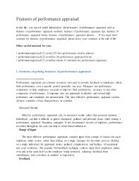 scholarship contract template resume seductive sample scholarship featuresofperformanceappraisal 150211021229 conversion gate01 thumbnail 4 jpg cb 1423620911