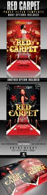best posters and flyers templates of new year design red carpet party flyer template