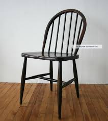 Black Wood Dining Chairs Dining Room Dining Chair In Retro Theme With Side Chair Type Mde