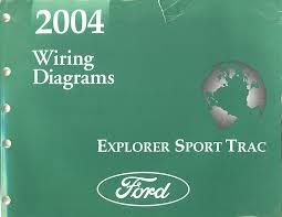 similiar 2004 ford explorer electrical diagram keywords 2004 ford explorer sport trac factory wiring diagrams book printed by