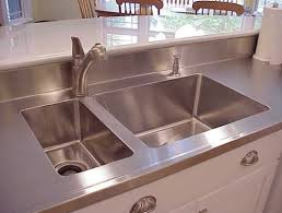 stainless steel countertop with sink. Where Elegance Style Is Included With Every Countertop In Stainless Steel Sink