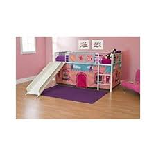 bunk beds with slides for girls. Fine Girls Girls Loft Bed With Slide Princess Tent Canopy Castle Twin Curtain Bunk  And Beds Slides For