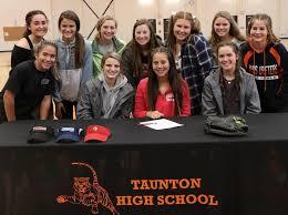 Paige Silvia signing - The Taunton Daily Gazette, Taunton, MA - Taunton, MA